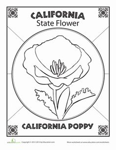 California Printable Worksheets, Crosswords, Word Searches