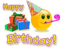 Happy birthday emoticons is a best way to wish your friends, family members or closed ones. Happy birthday emoticons makes time saver. Happy Birthday Photos, Birthday Wishes And Images, Happy Birthday Friend, Happy Birthday Messages, Happy Birthday Greetings, Funny Birthday, Happy Birthday Emoticon, Birthday Emoticons, Free Birthday Clipart