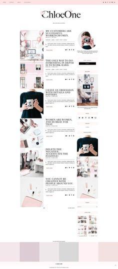 Chloe  - Blogger Template & Theme  - Responsive Design Custom Blogger Design Responsive Blogger Template Blogger theme blogspot Template