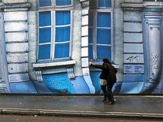trompe-l'oeil musée Magritte