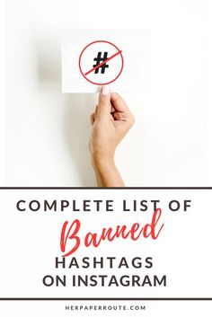 Complete list of ban