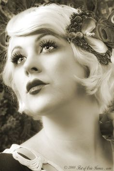 Cool Great Gatsby Makeup Short Hairstyles And Hairstyles For Short Short Hairstyles Gunalazisus