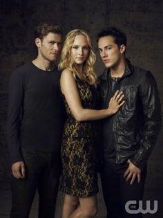 Haha! Looks like Caroline's got a love triangle now! ;) Uh, oh. :)