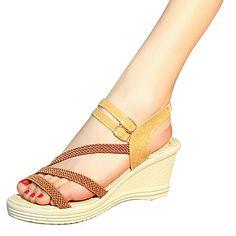 Mujer Zapatos PU Verano Confort / Talón Descubierto Sandalias Tacón Stiletto Blanco / Rosa Livraison Gratuite Meilleure Vente Vente Discount Pas Cher fBnFe0z