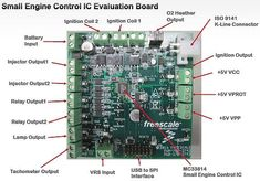 EDN - Freescale analog ICs for small engine electronic control units Basic Electrical Wiring, Electrical Circuit Diagram, Car Ecu, Electronic Control Unit, Engine Control Unit, Analog Devices, Electronics Basics, Voltage Regulator, Electronic Engineering