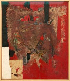 Rosso e Nero | Alberto Burri