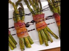Bacon-Wrapped Asparagus http://ibeebz.com