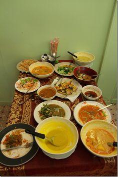 Assorted Vegetarian Menu at May Kaidee Restaurant in Bangkok, Thailand
