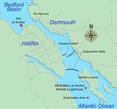 map of halifax harbour and bedford basin 1917 - Yahoo Canada Image Search Results