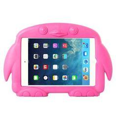 For+iPad+Mini+1/2/3+Magenta+Penguin+EVA+Protective+Case