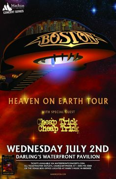 Boston in Bangor, Maine - July 2, 2014 at Darling's Waterfront Pavilion - Waterfront Concerts