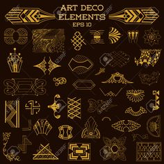 art deco elements - Google Search