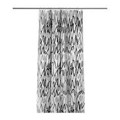 IKEA - FJÄRDGRUND, Rideau de douche, Peut facilement être découpé à la longueur souhaitée.