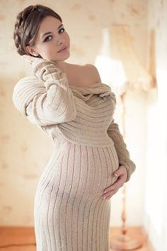 Nastya by Kristina Kazarina - An absolutely gorgeous photo, and I am not a fan of maternity shots