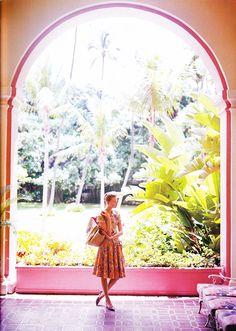 "Gemma Ward "" Aloha "" by Troyt Coburn Vogue Australia November 2004"