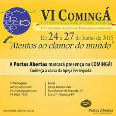 Veredas Missionárias: VI Comingá - Conferência Missionária de Maringá/PR...