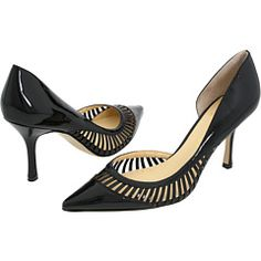Love these #ivankatrump shoes but they are probably about an inch too high for me.  The difference between walking comfortably, and being laid out flat in my office lobby (or anyone else's).