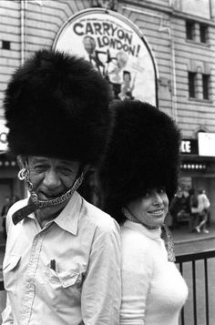 Sid James and Barbara Windsor take a break from rehearsals to parade outside the Victoria Palace Theatre wearing cm) Fine Art Print Framed, Poster, Canvas Prints, Puzzles, Photo Gifts and Wall Art Barbara Windsor, Victoria Palace Theatre, British Comedy, National Photography, Sports Photos, Showgirls, Poster Size Prints, Carry On, Take That