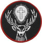 USAF St. Hubertus Pararescue Decal (4 Inch) by OurHeros on Etsy