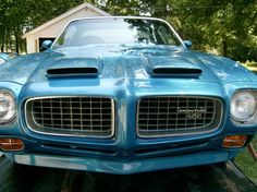 1971 Firebird Formula 455 hood scoops