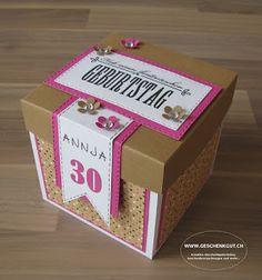 Überraschungsbox Explosionsbox Geschenkgutschein Geldgeschenk Reise Geburtstag Koffer Amerika Städtereise Amsterdam Paris Berlin Hamburg New York