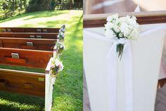 What Planners Are Loving for Nashville Weddings: P.E.W.S, #nashvillewedding, #weddingpews, #gettingmarriednashville