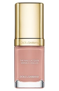 Dolce&Gabbana Beauty 'The Nail Lacquer' Liquid Nail Lacquer in Honey