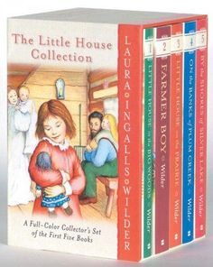 The Little House Collection: A Full-Color Collector's Set of the First Five Books: Little House in the Big Woods,...