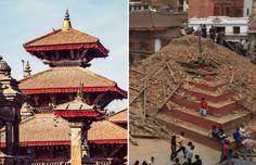 Massive earthquake hits Nepal