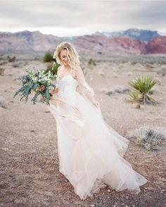 "324 Likes, 13 Comments - Tara Lauren (@tara_lauren) on Instagram: ""Dreaming of the Calloway our classic embroidered tulle overlay over a beaded slip, forever in love…""  #taralauren #mountainwedding #love #bohobride #romantic #romanticbride #romanticwedding #bohemianwedding  #winterwedding #fallwedding #rusticwedding #barnwedding #farmwedding #weddingdress #weddingideas #weddinginspo #bridal #coolbride #sexybride #sexyweddingdress #prettyweddingdress #pretty #rustic #bohemian #bohowedding…"