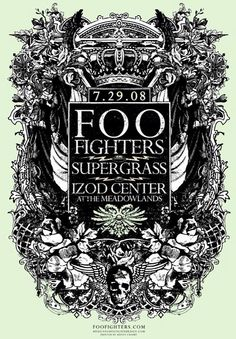 Foo Fighters Posters
