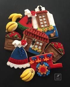 Sweet Cookies, Cut Out Cookies, Iced Cookies, Cute Cookies, Sugar Cookies, Fondant Cookies, Galletas Cookies, Cupcake Cookies, Boho Cake