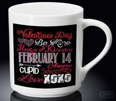 Quotes Love You Valentine New Hot Mug White Mug