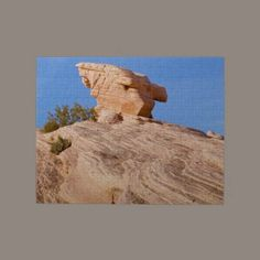Hanging On Valley of Fire Jigsaw #Puzzle #photos #gifts $16.85