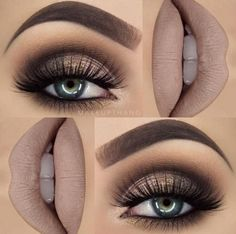 Hottest Eye Makeup Looks – Makeup Trends Gorgeous! Gold and Brown Glittery Style with False Lashes. 10 Hottest Eye Makeup Looks – Makeup TrendsGorgeous! Gold and Brown Glittery Style with False Lashes. 10 Hottest Eye Makeup Looks – Makeup Trends Makeup Hacks, Makeup Goals, Makeup Trends, Makeup Tips, Makeup Ideas, Makeup Tutorials, Makeup Style, Eyeshadow Tutorials, Makeup Lessons