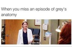18 Grey's Anatomy Memes That Are Funny Even If You Stopped Watching Years Ago In the 15 seasons that Grey's Anatomy has been on the air, it's become something of a pop culture institution. At some point, we found ourselves so emotionally Greys Anatomy Frases, Greys Anatomy Funny, Grey Anatomy Quotes, Grays Anatomy, Greys Anatomy Workout, Greys Anatomy Season 3, Khal Drogo, Jon Snow, Game Of Thrones Meme