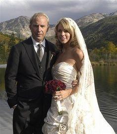 Kevin Costner and Christine Baumgartner
