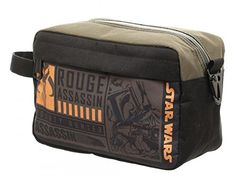 Star Wars Assassin Dopp Kit Toiletry Bag -- For more information, visit image link. Note:It is Affiliate Link to Amazon.