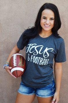 Jesus & Football Tee Pre Order