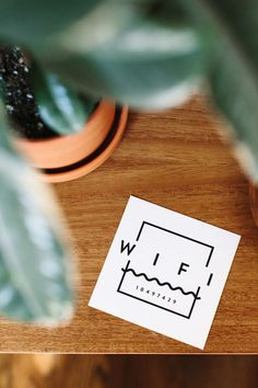 printable wifi guest card | Almost Makes Perfect | Bloglovin'