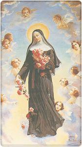 images pieuses tous les saints - Page 15 Religious Images, Religious Art, Priere Ste Rita, St Rita Of Cascia, Vintage Holy Cards, Special Prayers, Santa Teresa, Santa Maria, Spiritual Thoughts