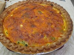 Taste and See God's Goodness: Leftover Ham Recipe #4 Ham Broccoli Quiche