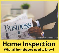 A home inspection refers to an examination in which the condition of home is inspected often in connection with the sale of that home. This inspection is c. Building Systems, Home Inspection, Minneapolis, Home Buying, Need To Know, Arch, New Homes, How To Plan, Longbow