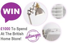Win £1000 To Spend At The British Home Store (BHS)
