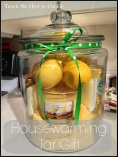 DIY Jar Gift House Warming Gift