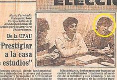 Amado Boudou en la UPAU (brazo estudiantil de la Ucedé)