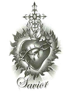 "Savior Sacred Heart Temporary Body Art Tattoos 2.5"" x 3.5... http://www.amazon.com/dp/B00AANCB2C/ref=cm_sw_r_pi_dp_Kl6ixb0HYTVAW #temporarytattoo #bodyart #inked #savior #sacredheart"