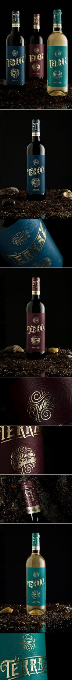 Terraz Wine Celebrates Its Origins With Its Packaging — The Dieline | Packaging & Branding Design & Innovation News