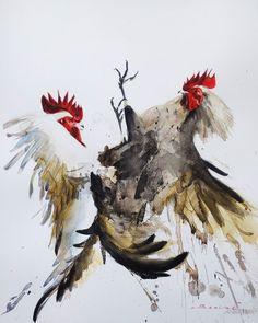 Watercolor Paintings, Animals, Watercolor, Animales, Water Colors, Animaux, Animal, Animais, Watercolour Paintings