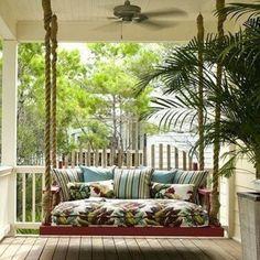 Tuin/balkon ideeën | bank hangen wordt bankhangen Door lind4